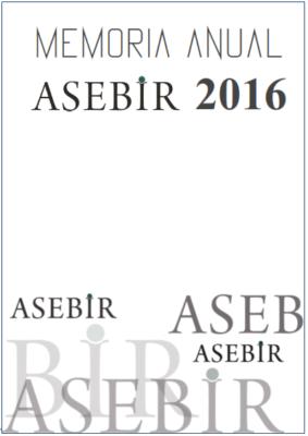 Portada Memoria ASEBIR 2016 2